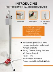 Foot operated Sanitizer Diispenser