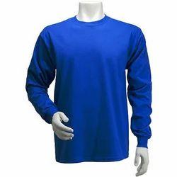 Men Cotton Round Neck Full Sleeve T Shirt