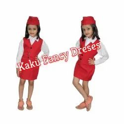 Air Hostess Kids Costumes