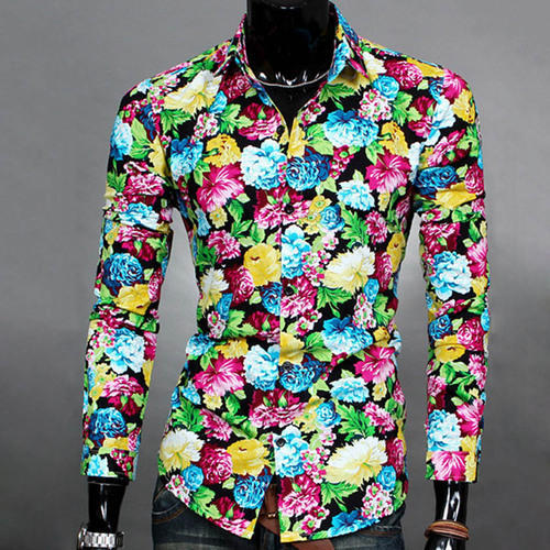 Men's Floral Shirt at Rs 450 /piece | Gents Shirts, Mens Shirts ...