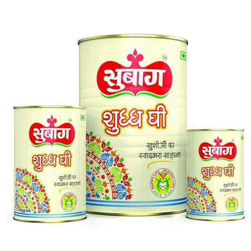 Subag Buffalo Pure Ghee, Packaging Type: Box , For Household