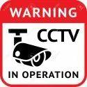 CCTV Camera Sticker