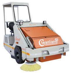 Medium Dusty Conditions Road Sweeper
