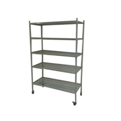 Paint Coated Stainless Steel Storage Rack, For Warehouse, 0-50 kg