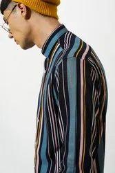 Green Hill Mens Stripes Shirt