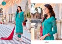 Georgette Straight Suits