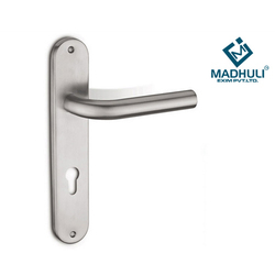 Mortise Handle On Plate SS 202, 304, 316.