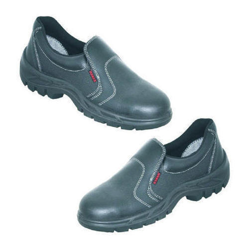 Karam Lace less Safety Shoes,Available
