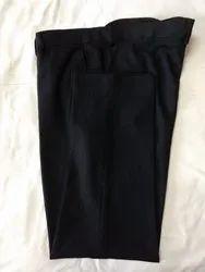 Black Cotton Men Formal Trousers 7