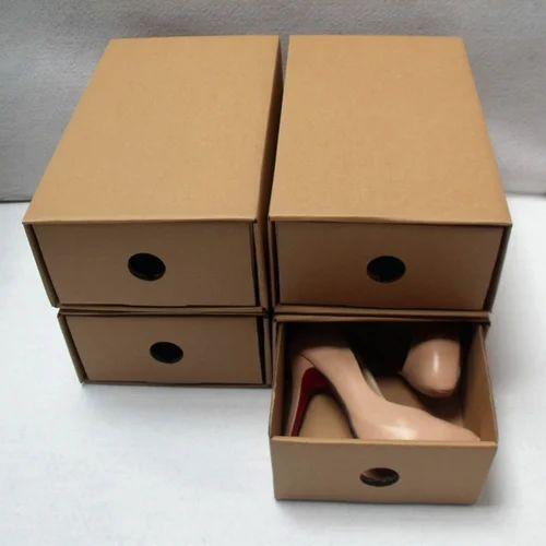 Cardboard Shoe Box
