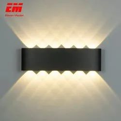 Warm White Metal Led Wall Lamp Ip65, For Home Out Door