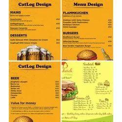 2 Days Catalog Design & Menu Design Services