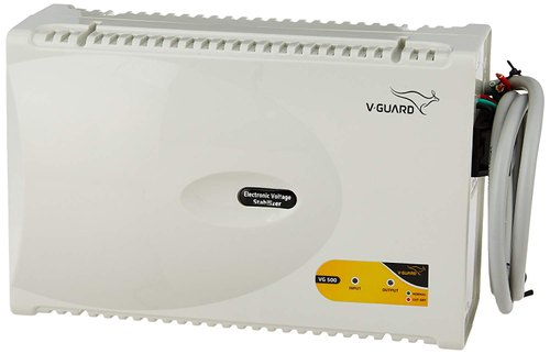 Model Name/Number: Vg 500 240V Manual V Guard Voltage Stabilizer, Itds 3min +-20 Sec, Warranty: 3 Years