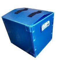 Polypropylene Blue PP Corrugated Box