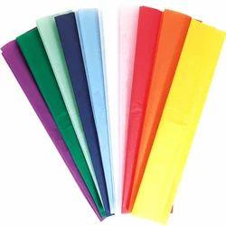 Plain Multicolor Colored Tissue Paper, Size: 30x30 cm