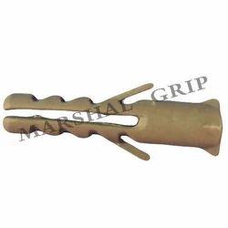 Marshal Grip (25x10) Grey Plastic Wall Plug