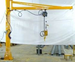 Column Mounted Slewing Jib Crane