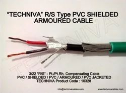 16 Awg (3/22) 1.50 Sq.Mm R/s Type Pvc Shiedled Armoured Cable