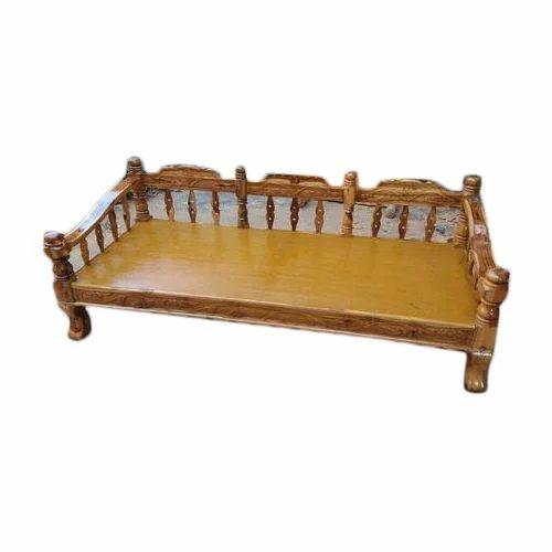 47b556ca78c Rectangular Wooden Sofa Cum Bed