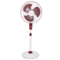 Ivory Cherry Pedestal Fan