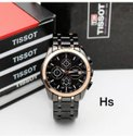 Men Round Black Wrist Watch, For Personal Use