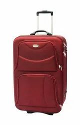 BagMinister Red 24 Inch Trolley Bag, For Tour And Travel