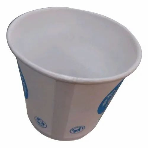 100 mL Printed Disposable Paper Cup, GSM: 195