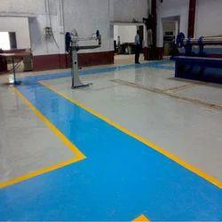 Industrial PU Floor Coating Service