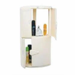 Bathroom Plastic Corner Cabinet