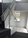 Staircase Aluminum Profile Glass Railing