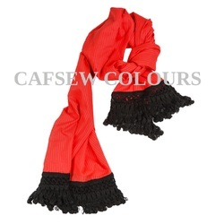 Red Cotton Scarves