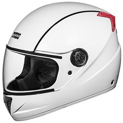Male Full Face STUDDS HELMET PROFESSIONAL WHITE (L)