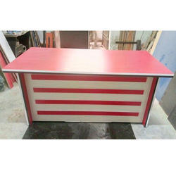 Red,White Wooden Office Tables
