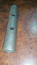 Round Carbon Steel Spigot Pin