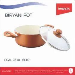 Non Stick Biryani Pot 6 Ltr (PEARL 2810)