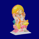 Home Decor Marble Ganesh Statue