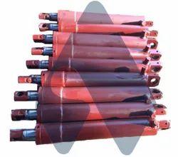 Aumtex India Mild Steel Furnace Hydraulic Cylinder, For Industrial, Welded
