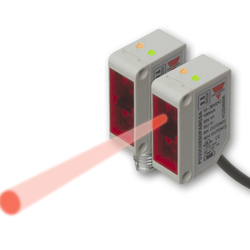 Laser Sensor Red Beam With Background Suppression