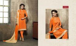 3/4 Sleeve Makshi Salwar Suit Fabric