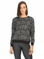 Women Printed Sweatshirt