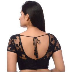 Black Net Designer Blouse