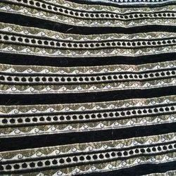 Embroidered Chenille Sofar Fabric, GSM: 150-200