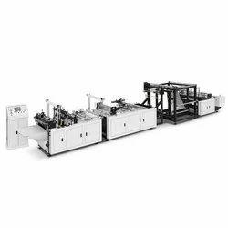 Automatic Box Type Loop Handle Bag Making Machine