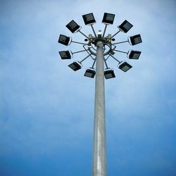 16 Meter High Mast Lighting Pole
