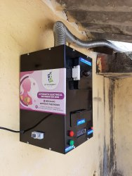 Automatic Electrical Incinerator- Capacity 50 pads/day without Temp. Controller