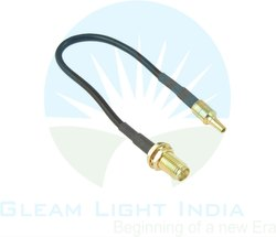 RF Cable Assemblies RP SMA Female to CRC9 in RG 174
