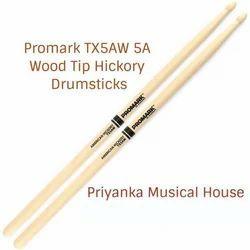 Wood Tip PRO-MARK TX5AW Sticks Hickory