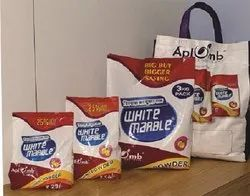 White Marble Lemon 3 Kg Washing Powder, For To remove stains from clothes, Packaging Type: Packet