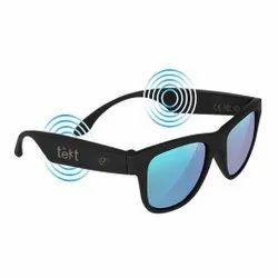 Black Over The Head Tekt Bone Conduction Sunglasses, Model Name/Number: B2