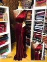 Fancy Satin Saree